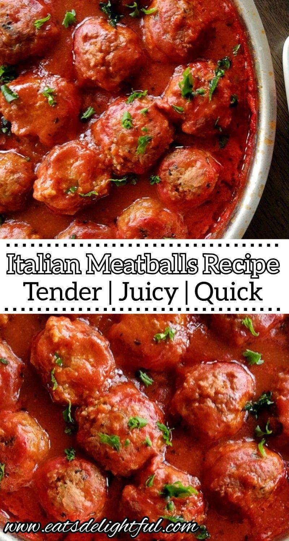 Easy Meatball Recipe Step By Step Video Lil Luna Recipe Meatball Recipes Easy Homemade Meatballs Easy Homemade Meatballs Recipe