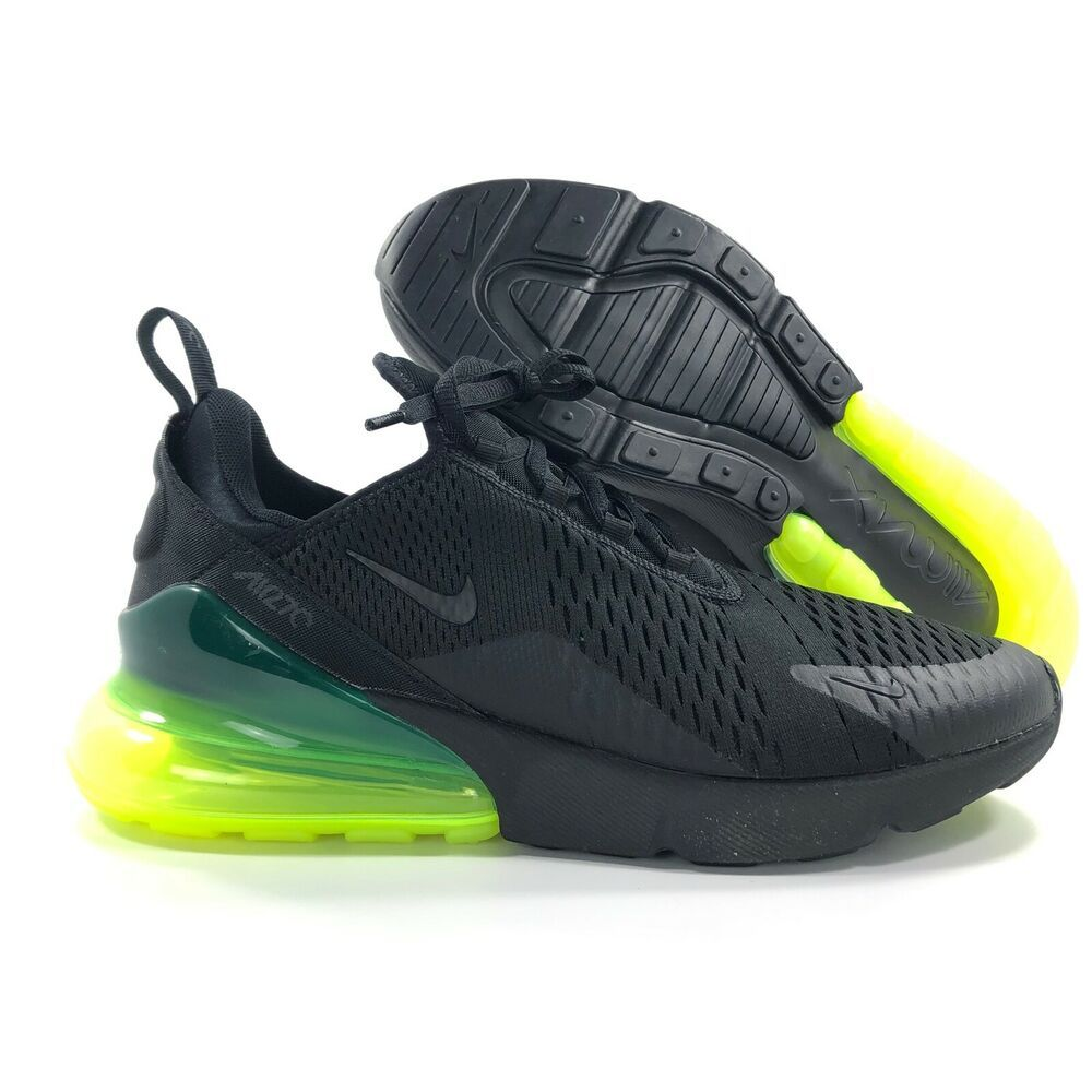 another chance where can i buy the sale of shoes eBay Sponsored) Nike Sportswear Air Max 270 Black Volt Green ...