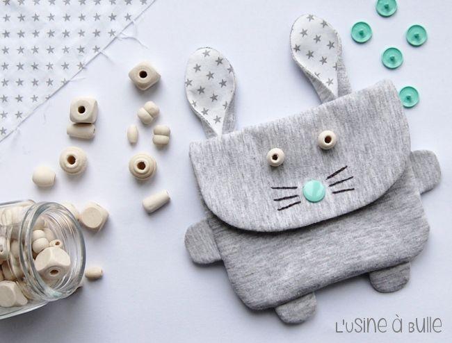 L\'usine à bulle: [DIY] Mini sac lapin | muñecas | Pinterest | Bolsos ...