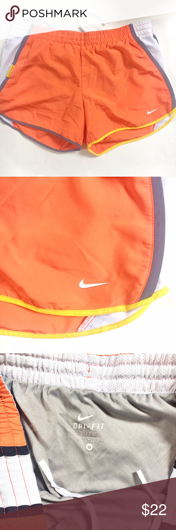 Nike dry fit shorts Perfect condition, no signs of wear with pockets built inside for your protection 😀 Nike Shorts