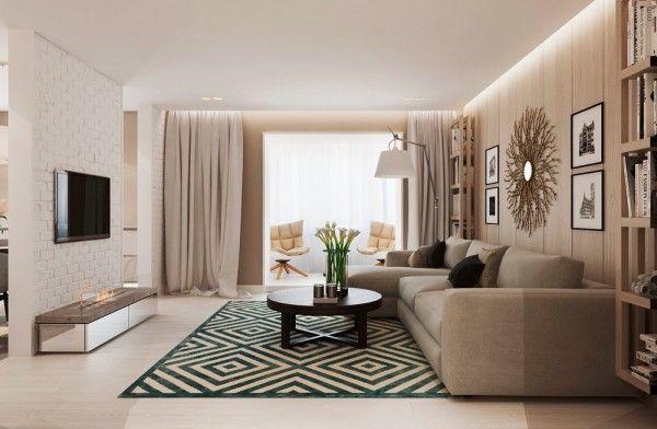 Modern Interieur Warm : Warm modern interior design interior design