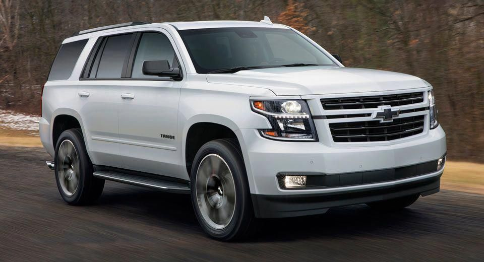 2018 Chevrolet Tahoe And Suburban Get Sporty Rst Package Autos