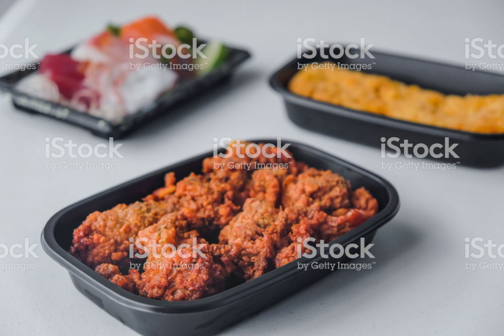 Japanese Food Delivery To Home Royalty Free Box Container Stock Photo Di 2020