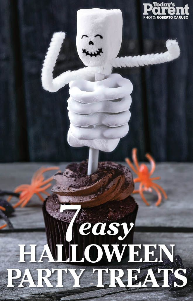 Want to achieve a boo-tiful Halloween party? Get started with these easy, awesome treat recipes! halloweenfoodforparty