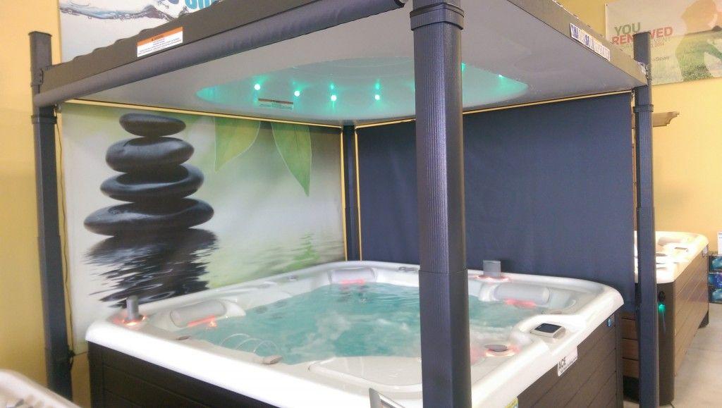 hot tub before track meet