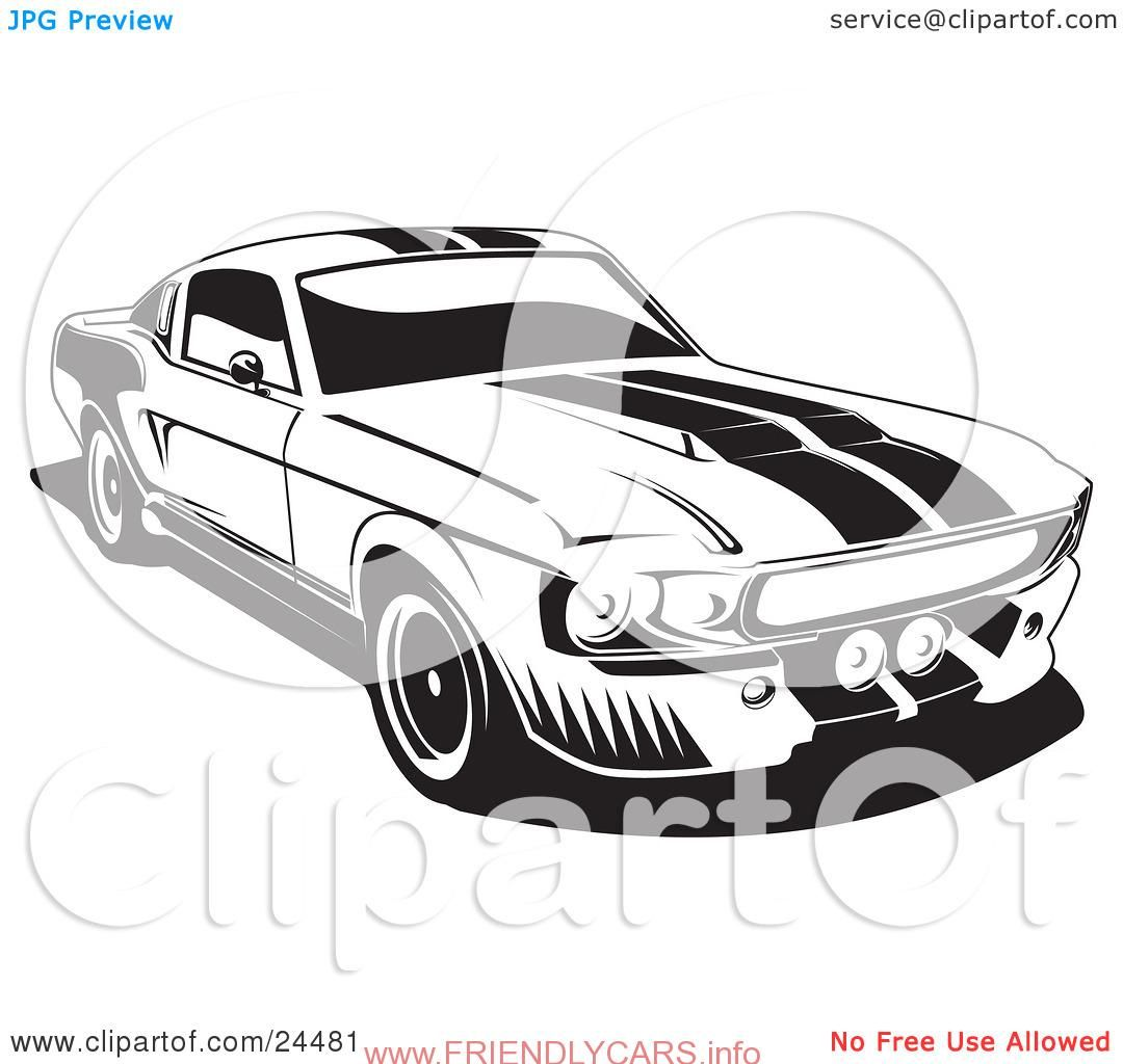 Old Car Images Hd: Cool Ford Mustang Logo Vector Car Images Hd Muscle Car