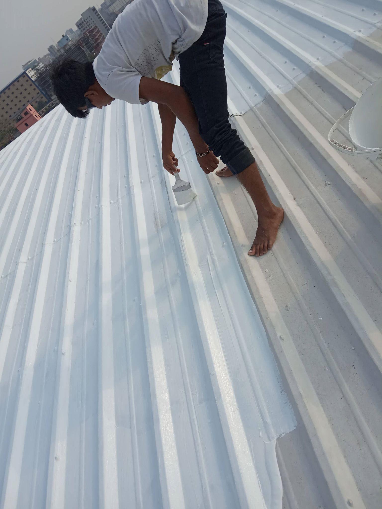 Waterproofing Solution Roof Coating Roof Waterproofing Roofing Systems