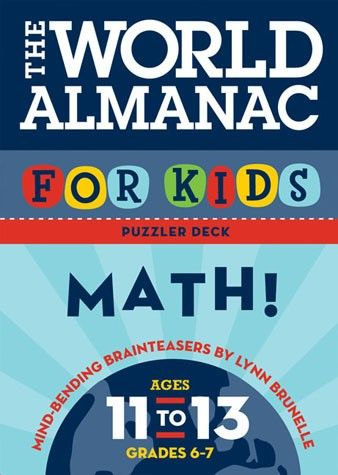 The World Almanac For Kids: Math (FLASHCARD 373.7 B835)
