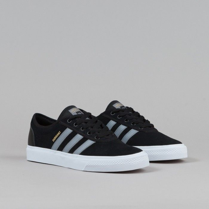 Adidas Adi-Ease Adv Shoes - Black / Grey / White | Flatspot
