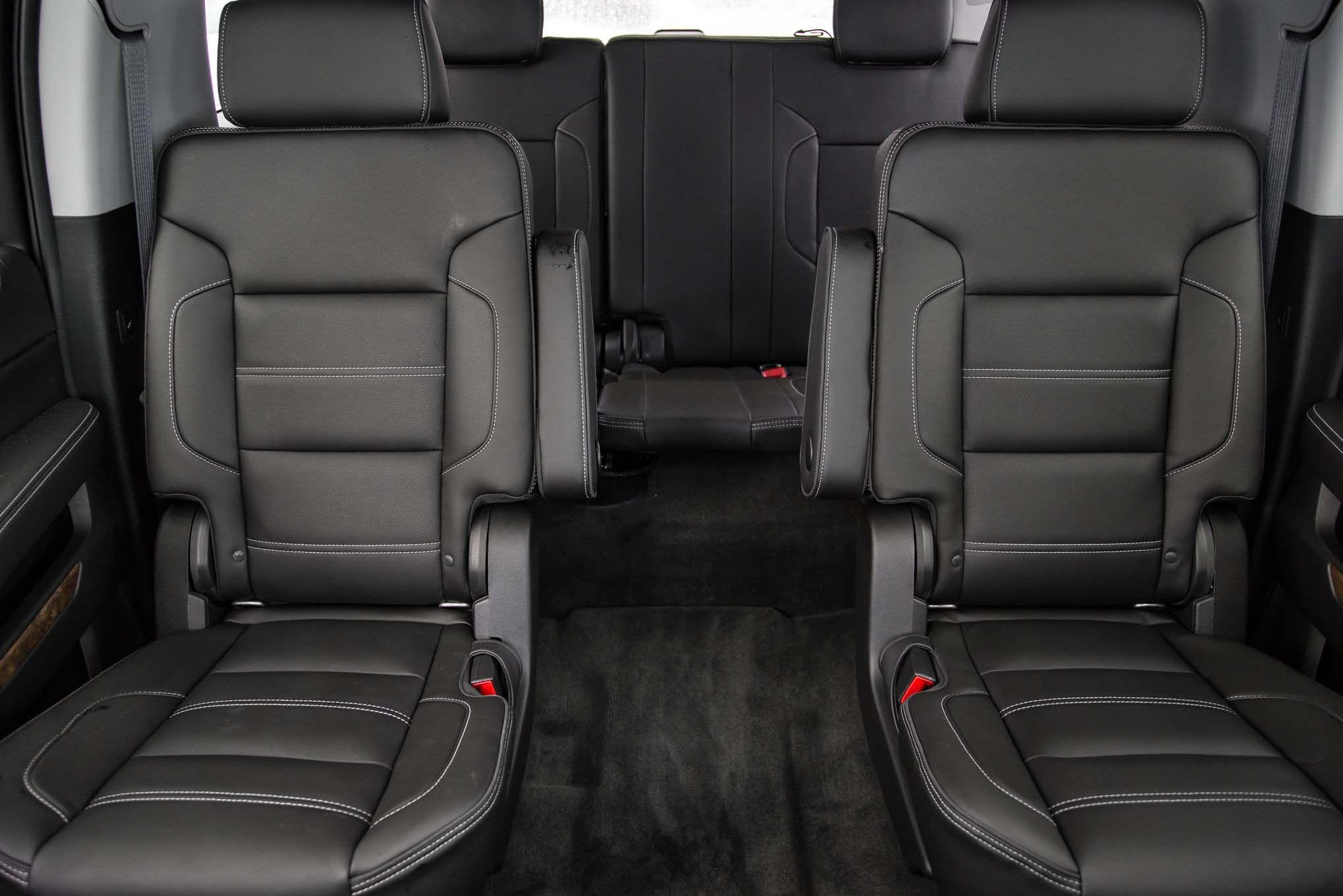 2015 yukon interior 2015 gmc yukon xl rear interior seats