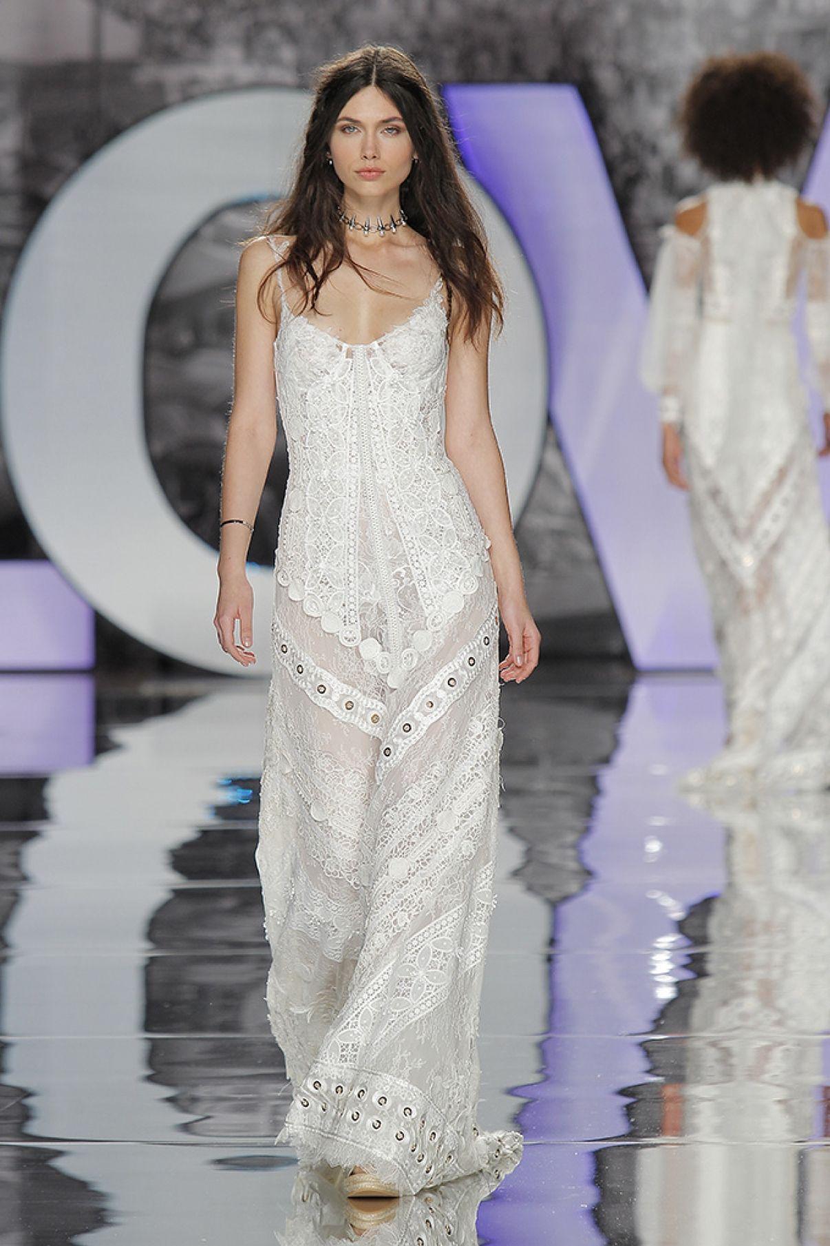 Valnera boho wedding dresses romantic bride dresses high fashion