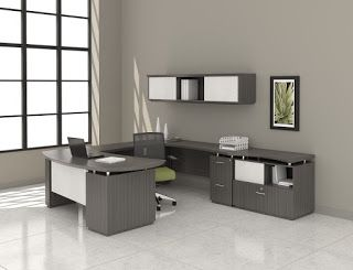 Interior of The Month: Sterling Executive Workspace by Mayline http://theofficefurnitureblog.blogspot.com/2016/01/interior-of-month-sterling-executive.html