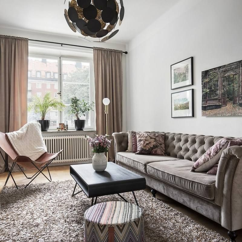 51 Apartment Decor Ideas Modern Eclectic Nordic Living Room