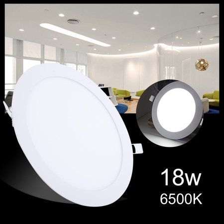 10pcs 9W Dimmable LED Recessed Ceiling Panel Down Lights Bulb Lamp Indoor Home