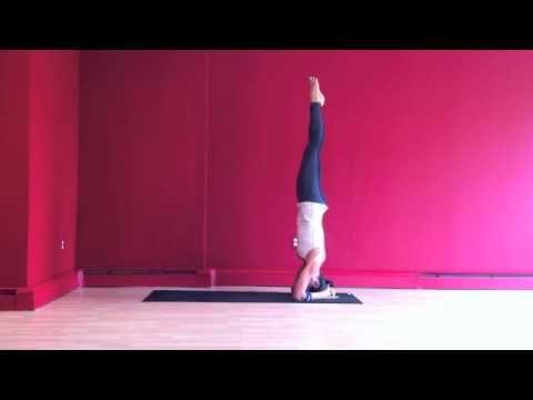 sirsasana/headstand for circulation inspiration