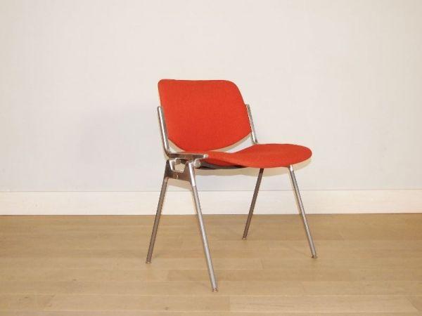 chaise castelli dsc 106 vintage annee