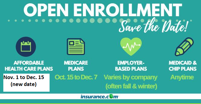Openenrollment Periods Allow You To Choose A New Health Plan Or