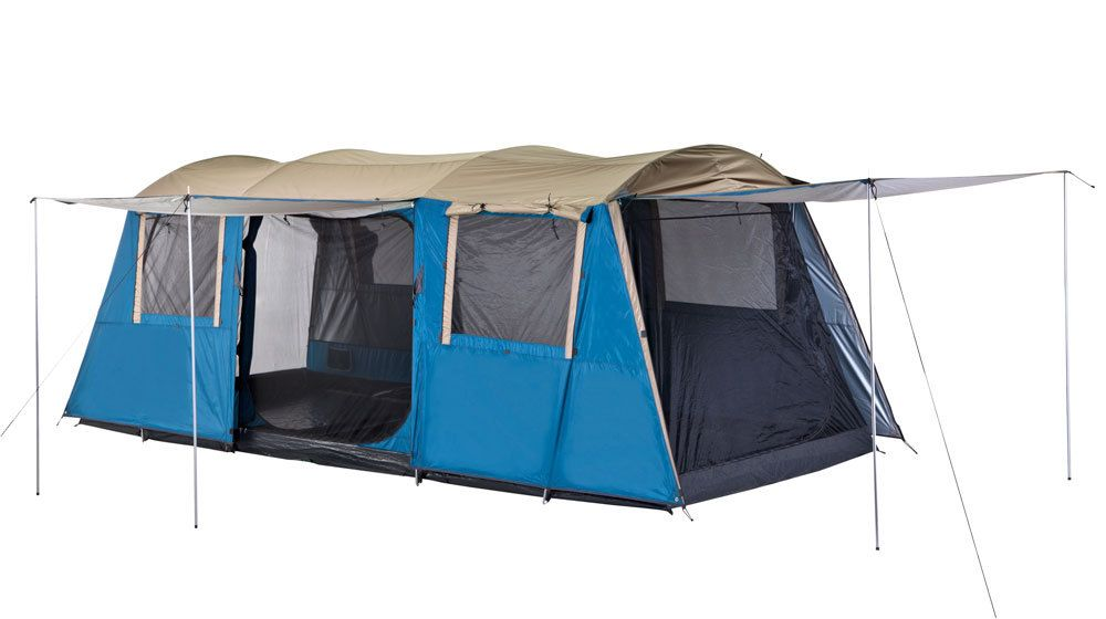 Get Free Delivery on Oztrail Bungalow 9 Tent - Huge Range of C&ing Tents at Australiau0027s Best Online C&ing Store  sc 1 st  Pinterest & OZtrail Bungalow Dome Family 9 Person Man Tent - Outdoor Oz ...