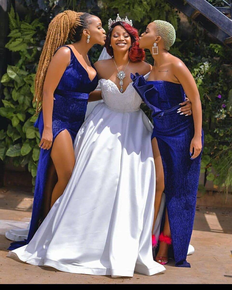15 Way To Waer African Bridesmaid Dresses In 2021 African Bridesmaids African Bridesmaid Dresses Bridesmaid [ 1200 x 961 Pixel ]