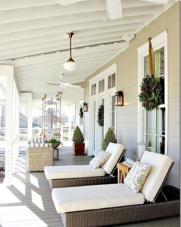 40 Lovely Veranda Design Ideas For Inspiration | Verandas, Porch and ...