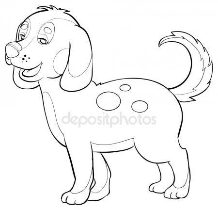 Vysledek Obrazku Pro Pes Kresleny Obrazek Zvirata Pinterest