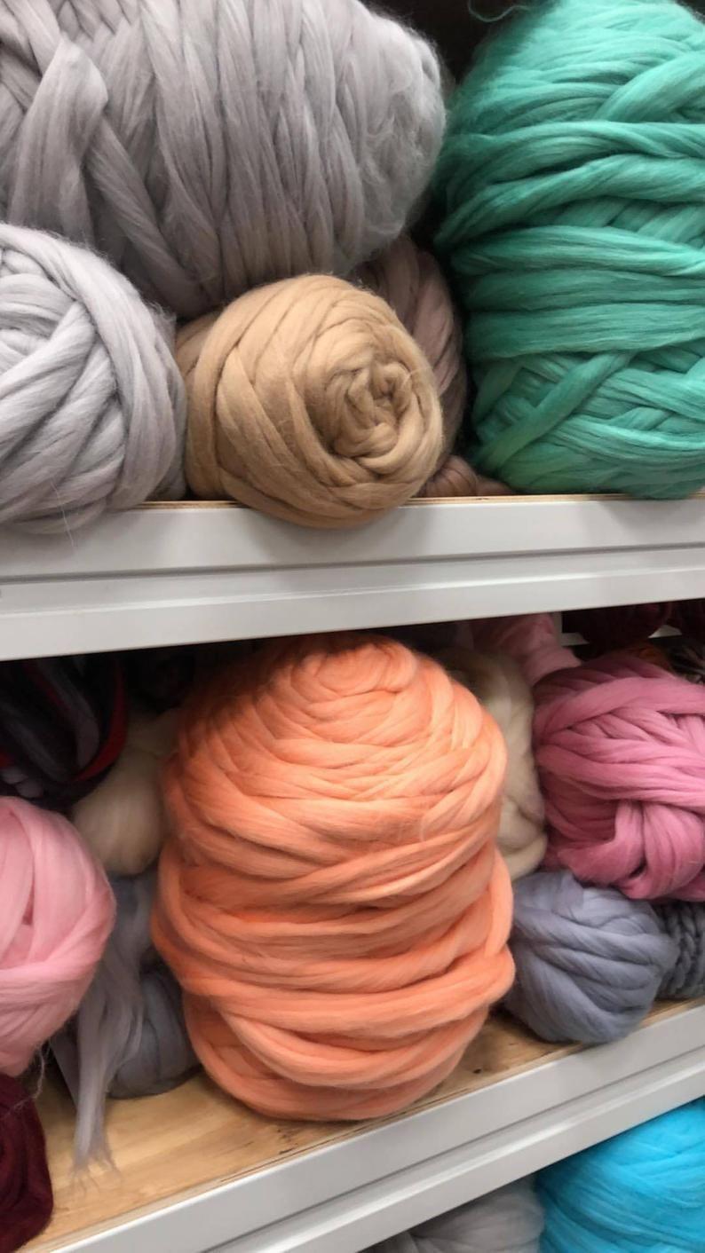 Wholesale Merino Wool Yarn Merino Wool Chunky Knit Yarn Arm
