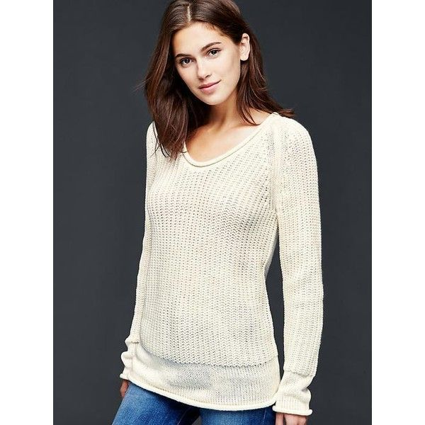 Gap Women Roll Neck Ribbed Sweater ($60) ❤ liked on Polyvore ...