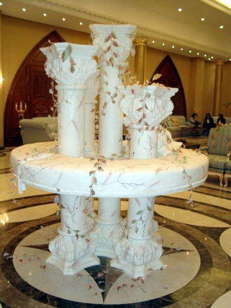 Tortas espectaculares para bodas all about cake - Ideas para bodas espectaculares ...