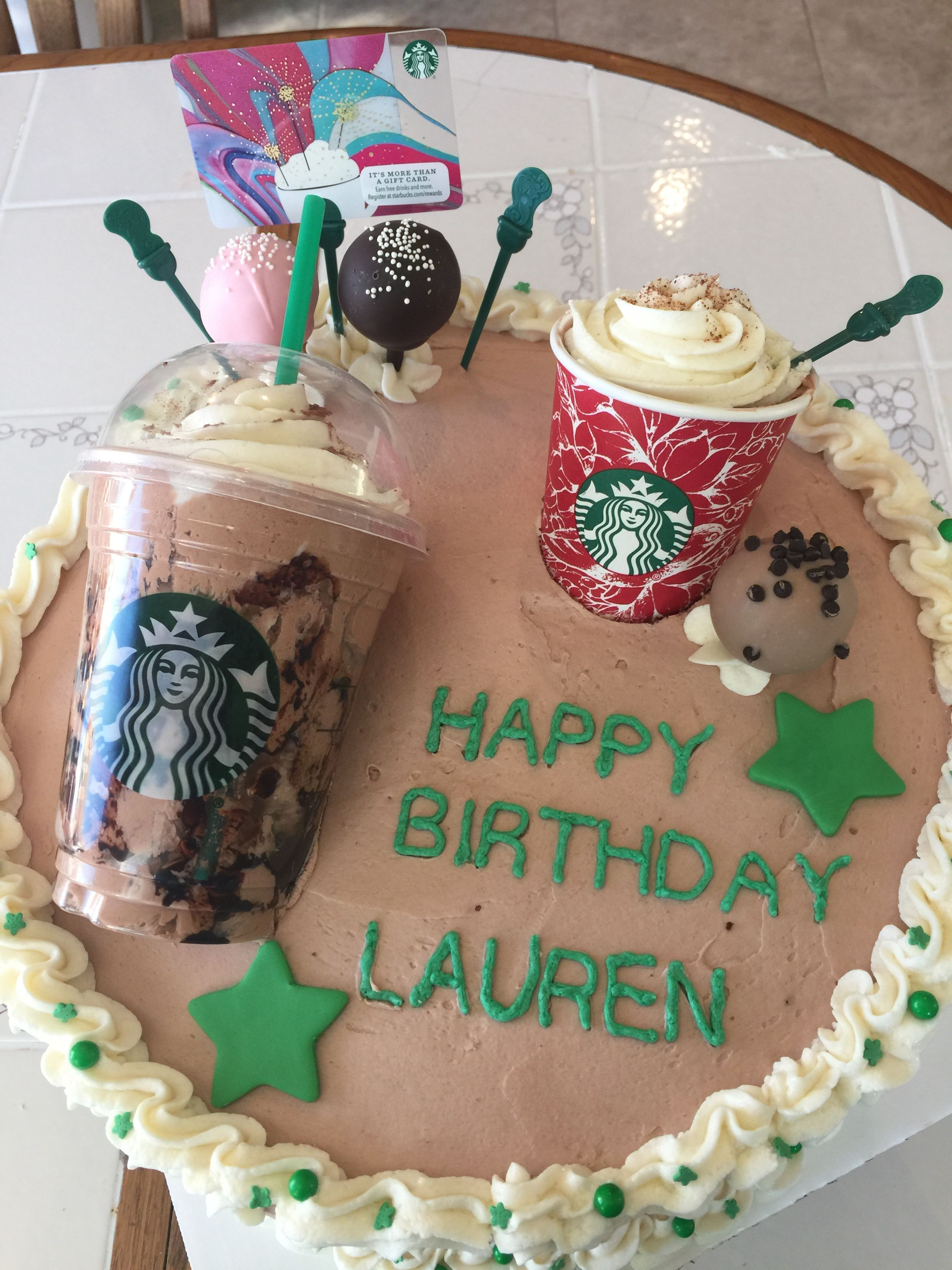 Starbucks Cake By Gymnasticsgirl101 On Starbucks Starbucks