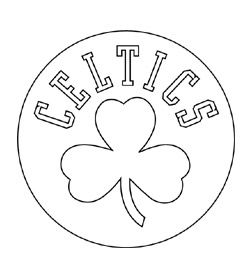 Kids Court Coloring Pages Celtic Boston Celtics