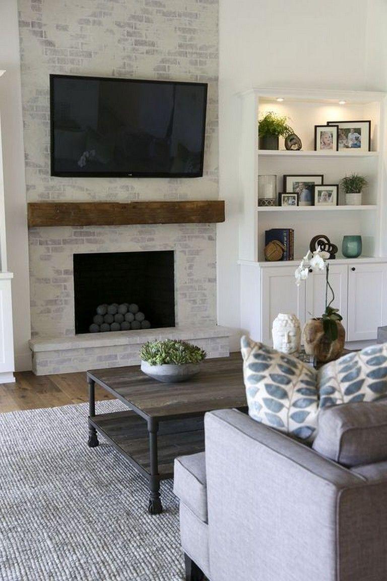 Best Modern Farmhouse Fireplace Ideas Farmhouse