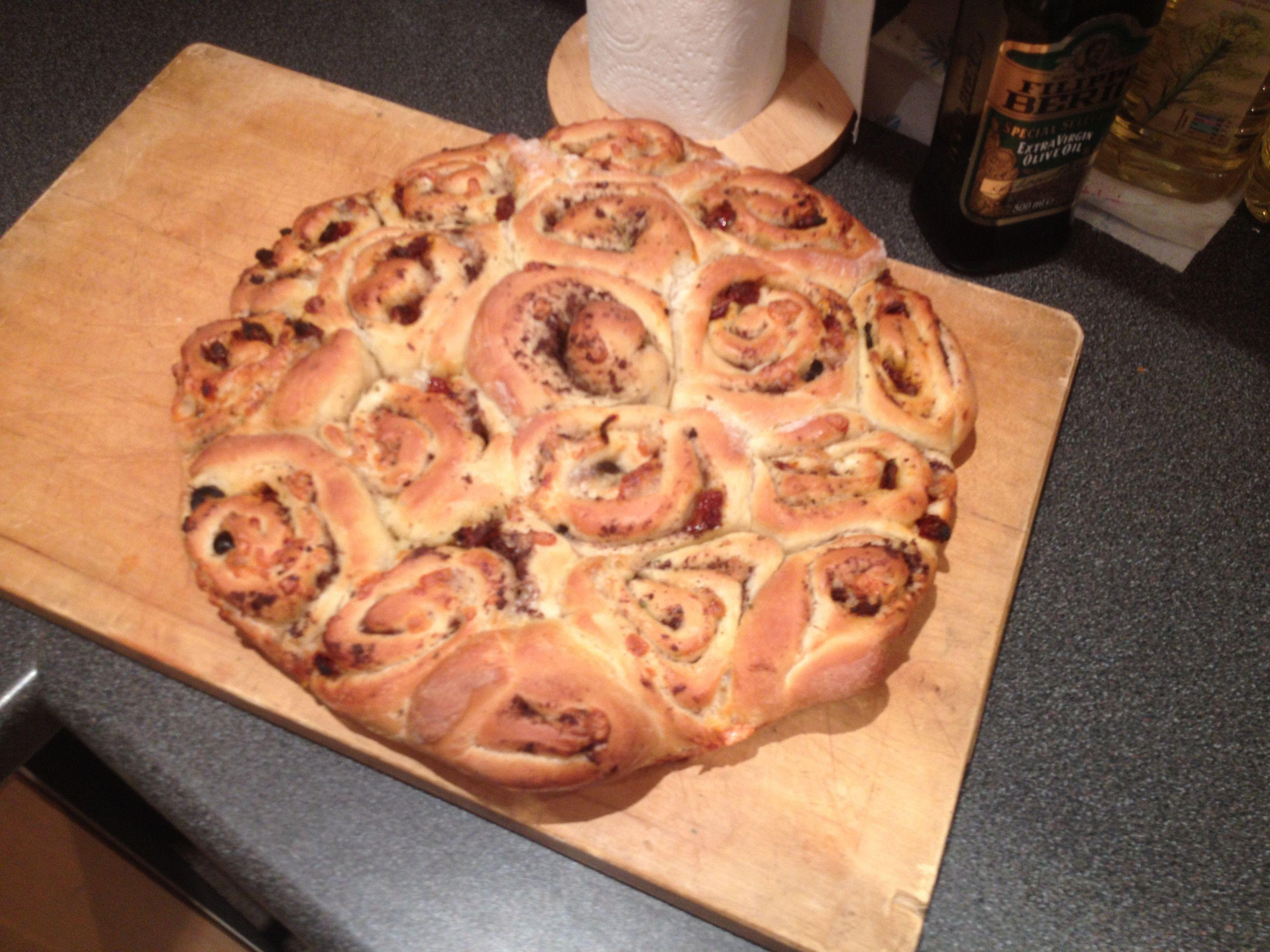 Mediterranean tear and share bread #tearandsharebread