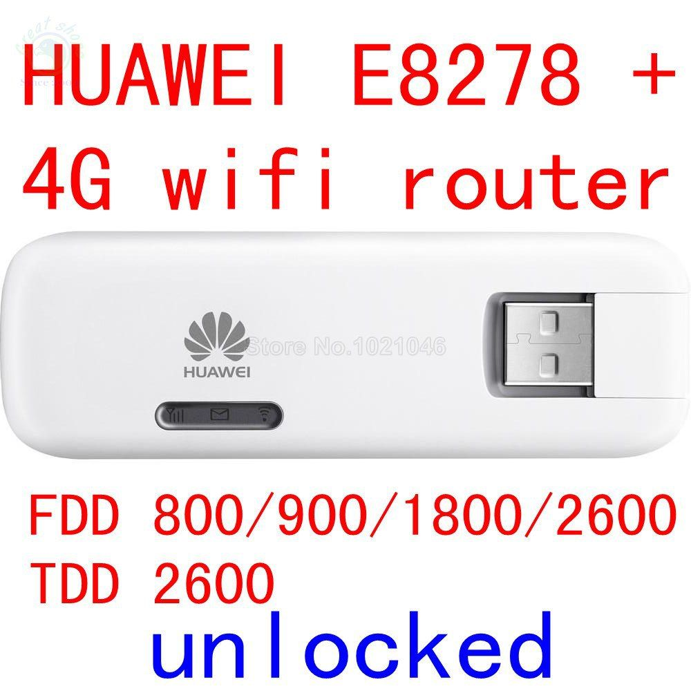 Unlocked Huawei E8278 E8278S-602 4G lte modem + wifi router 150Mbps