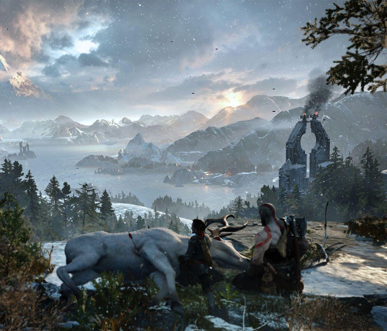 God of War   A New Beginning   God of war, Trailer, Kratos ...