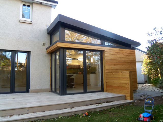Wood Frame Extension For Your Construction Of Wooden House