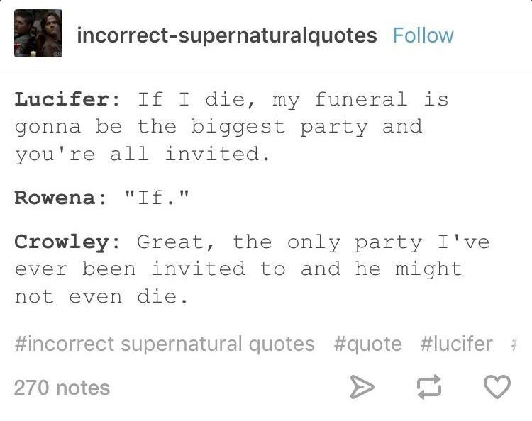 Incorrect Quotes Google Search Incorrect Quotes Supernatural