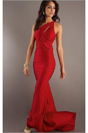 Petite Red Formal Dresses