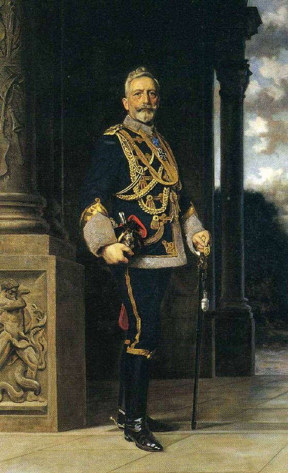 The fallen Emperor Kaiser Wilhelm II.  During an exchange of notes between Germany and the United States on the subject of a ceasefire, it became clear that the Allies regarded the abdication of Wilhelm II as a prerequisite for the suspension of hostilities. Internally, the Social Democrats – who were now part of the parliamentary government demanded Wilhelm's abdication.