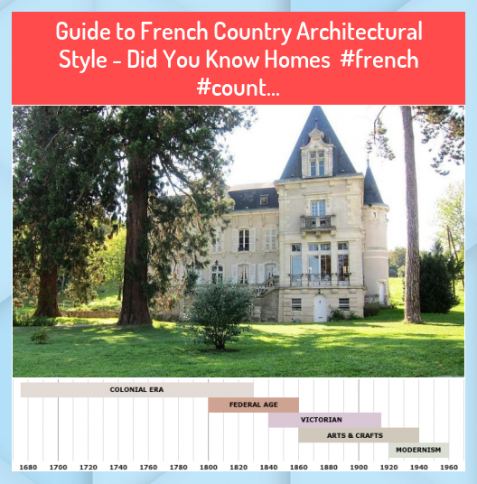 Guide to French Country Architectural Style  Did You Know Homes