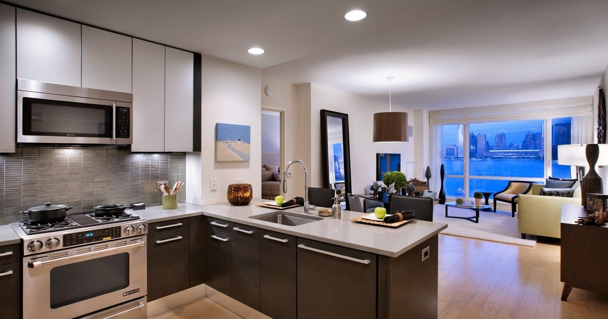 Wallpaper The City Table Room Wallpaper Interior Window Hd Wallpaper Low Angle Pho In 2020 Modern Kitchen Design Kitchen Decor Apartment Open Plan Kitchen Living Room
