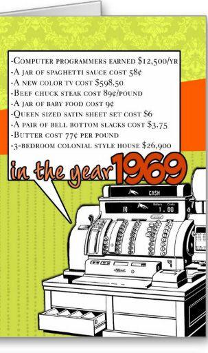 1969 Fun Facts 1960 S Memories Birthday 50th Birthday