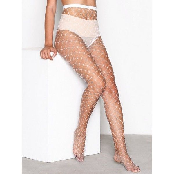 d54592255 Nly Lingerie Big Fishnet Tights ( 8.46) ❤ liked on Polyvore featuring  intimates