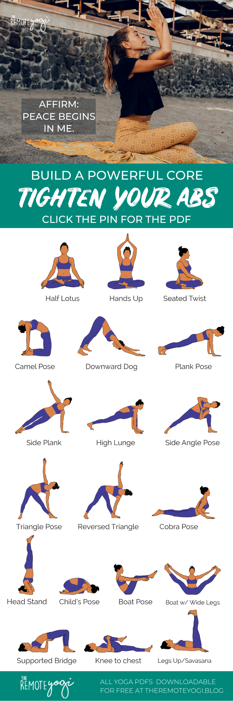Powerful Yoga to Tighten Your Abs Core