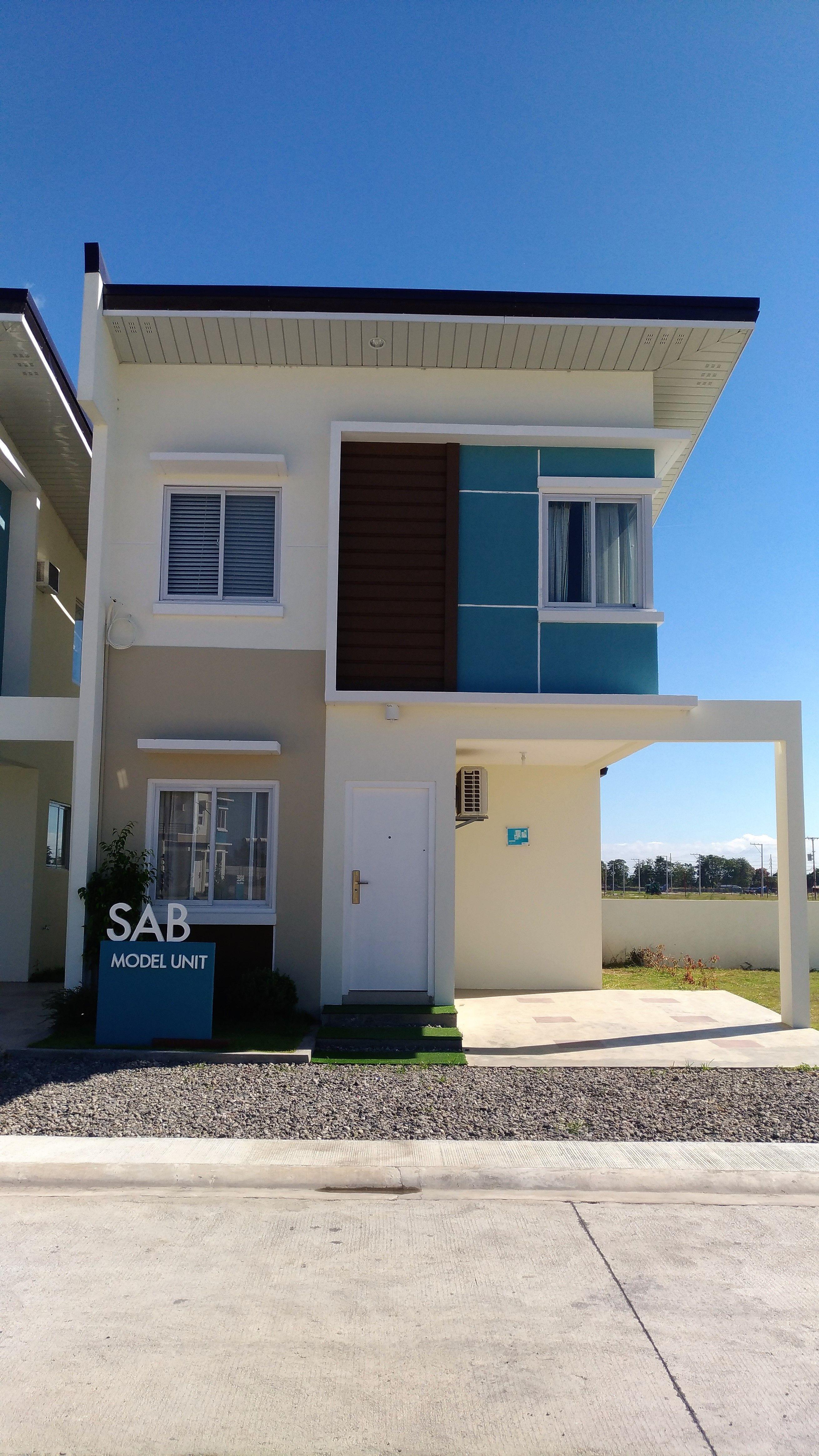 The Hauslands Pampanga Liz Model In 2020 2 Storey House Design 2 Bedroom House Design Storey Homes