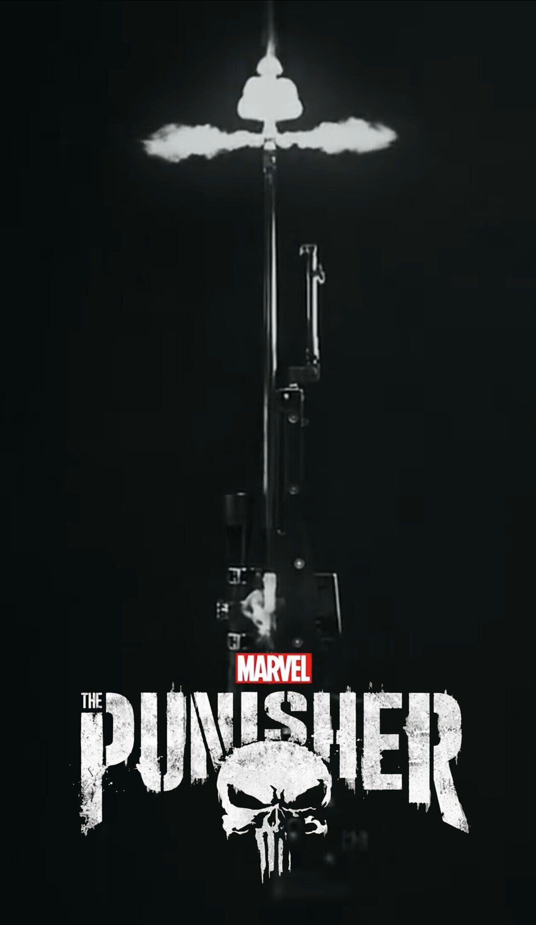 I made this The Punisher mobile wallpaper. Sorry for