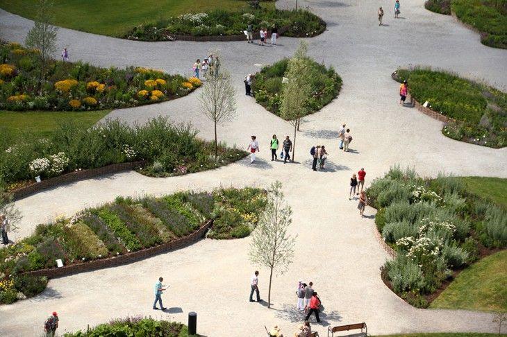 Landscape Park Wetzgau By Atelier Dreiseitl Landscape Landscape Design Urban Landscape