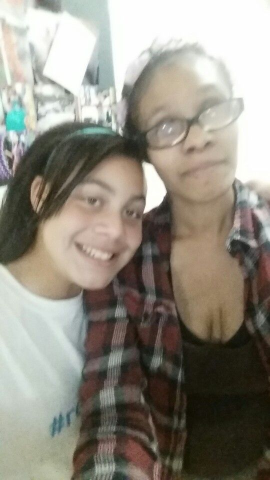 Adelize and mom