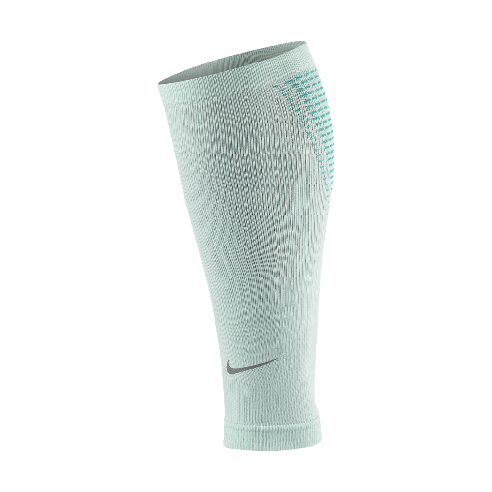 385b96d64b Nike Elite - Compression Running Calf Sleeves Size Medium (Green ...