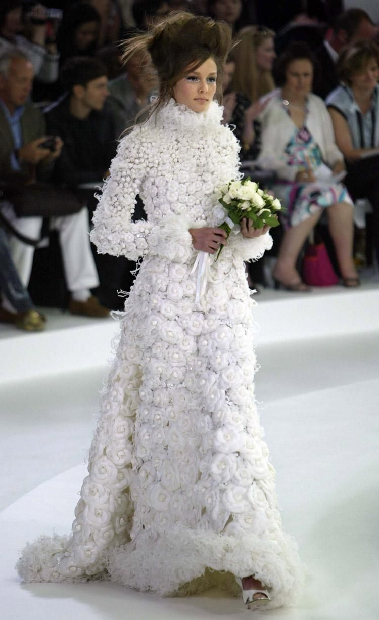 A celebration of Chanel Haute Couture wedding dresses through the ...