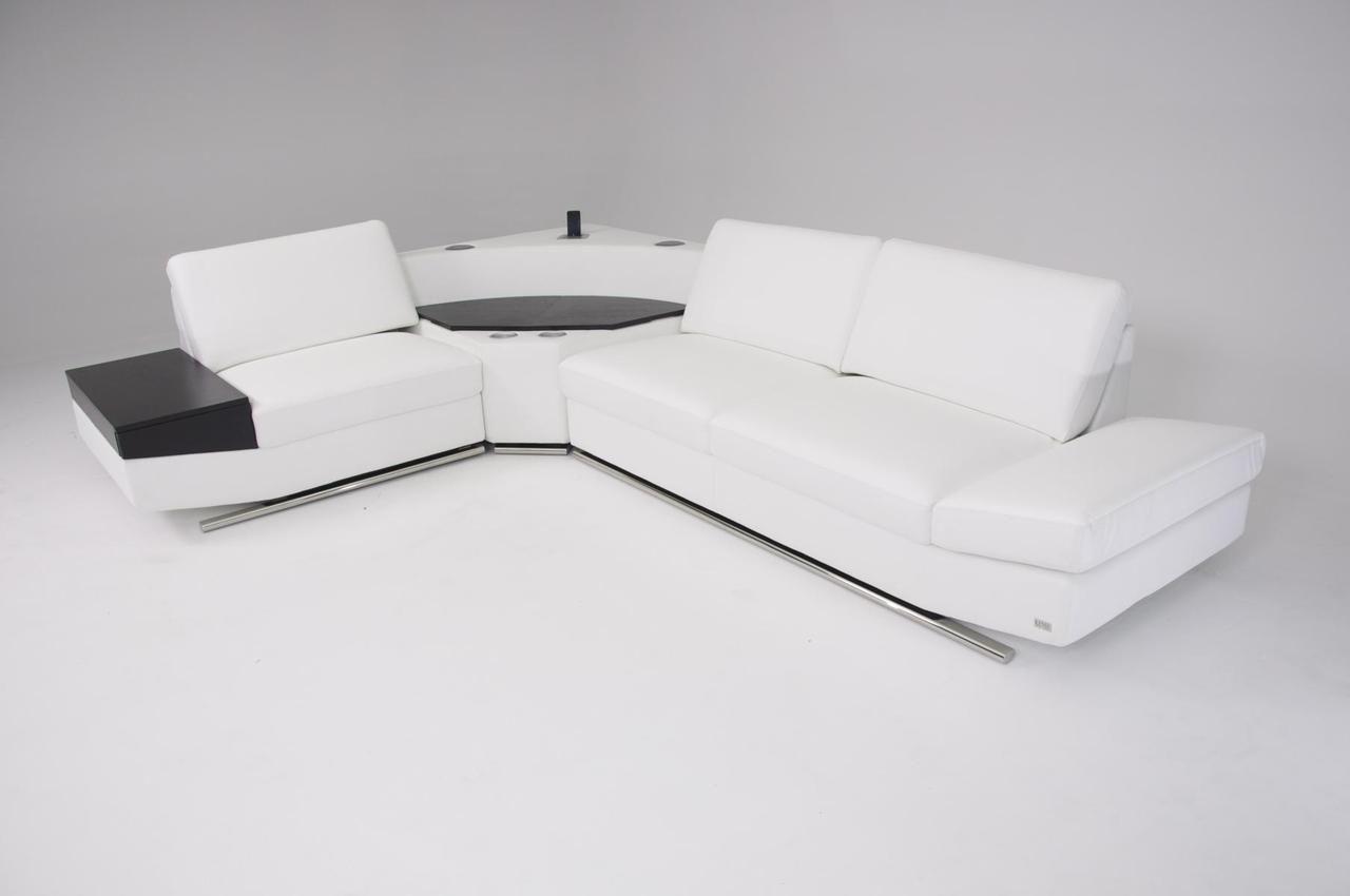 Stylish Design Furniture - Divani Casa K8464 Modern White Leather ...